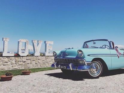 Wedding rent car